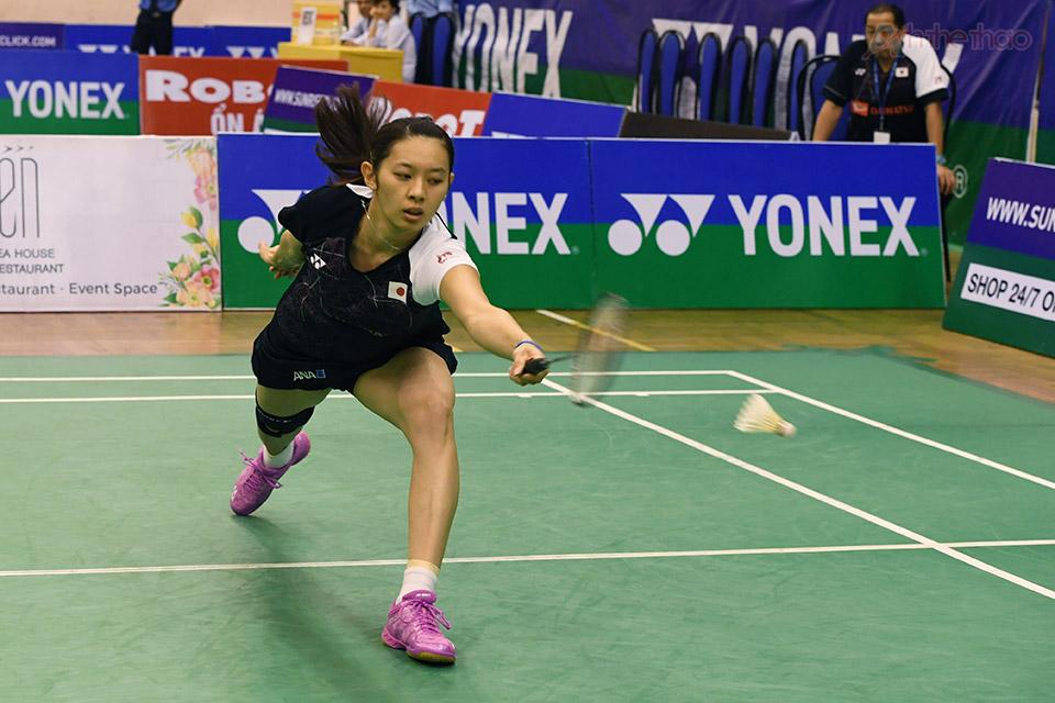 Sayaka Takahashi (Nhật) - hạt giống số 1 của giải