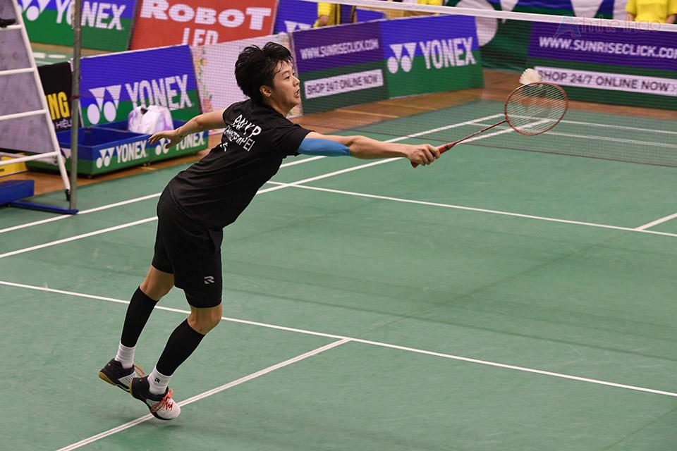 Pai Yu thua Trang về kỹ thuật nhưng khá vững về tâm lý