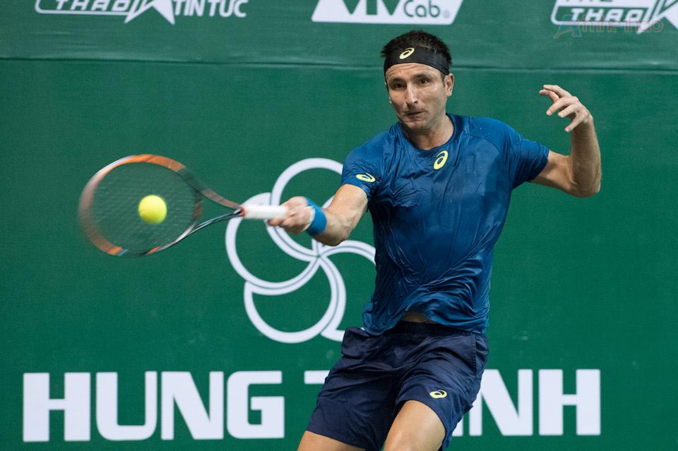 Matosevic chứng tỏ đẳng cấp của một tay vợt dày dặn kinh nghiệm