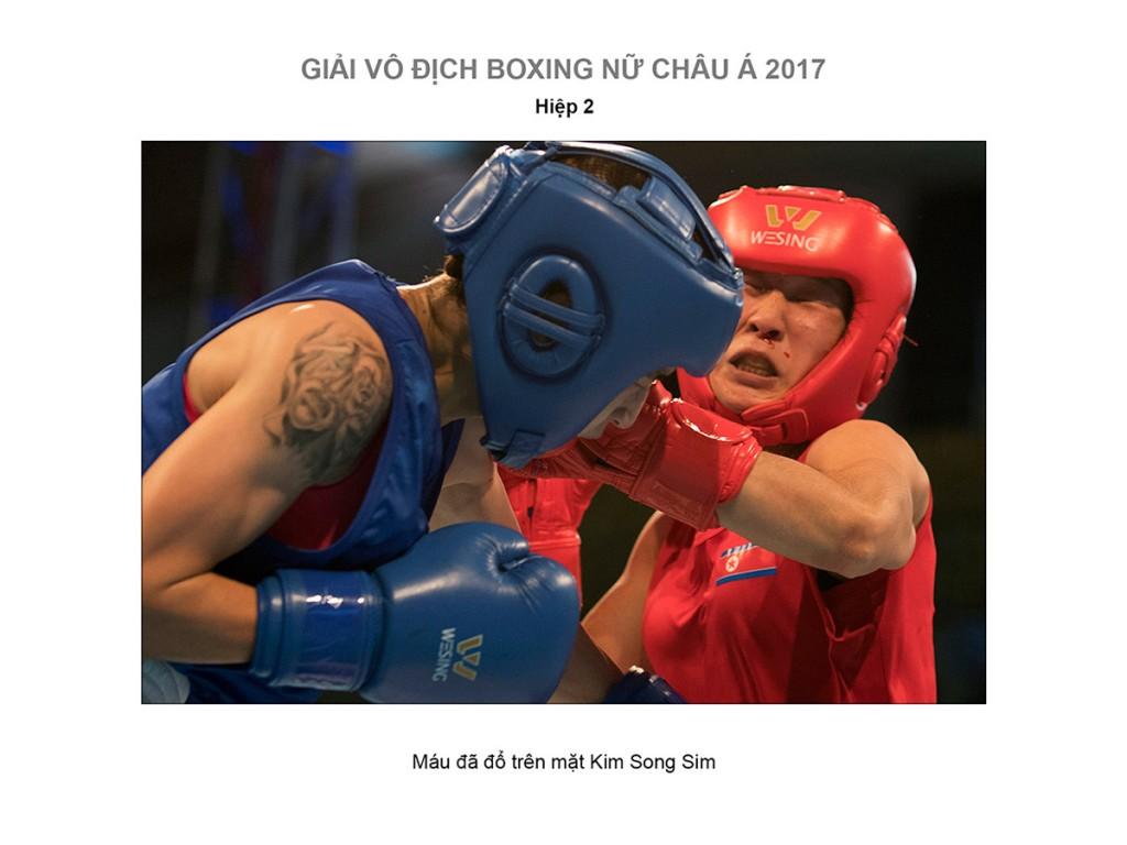 le-thi-bang-kim-song-sim-women-boxing-semi-finals-2017-11