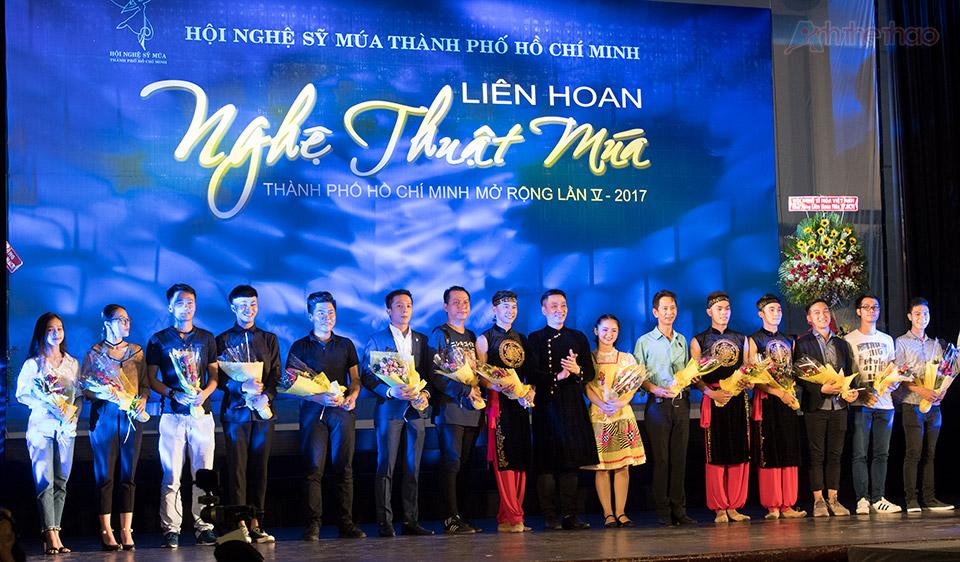 Các biên đạo múa - Liên hoan nghệ thuật múa TPHCM lần 5 2017