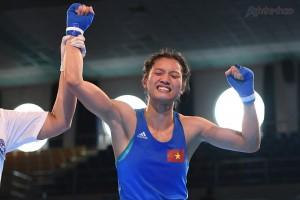 Hiệp 3: Nguyễn Thị Tâm dành chiến thắng dễ dàng