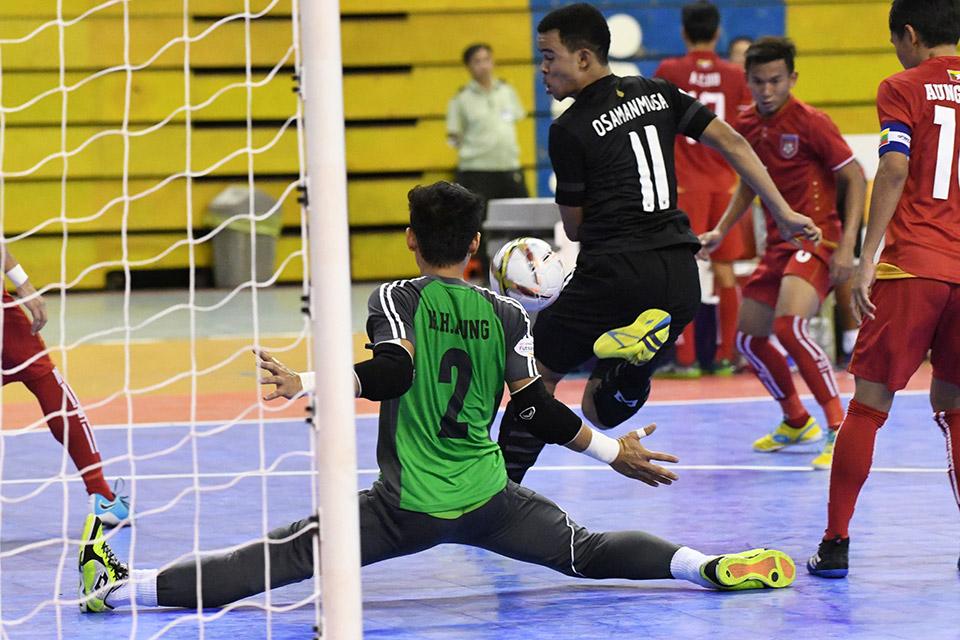 Thái Lan nâng tỉ số lên 2-0 ở phút thứ 17