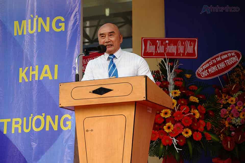 ông Huỳnh Ngọc Minh - Phó chủ tịch Liên Đoàn Thể Hình Việt Nam