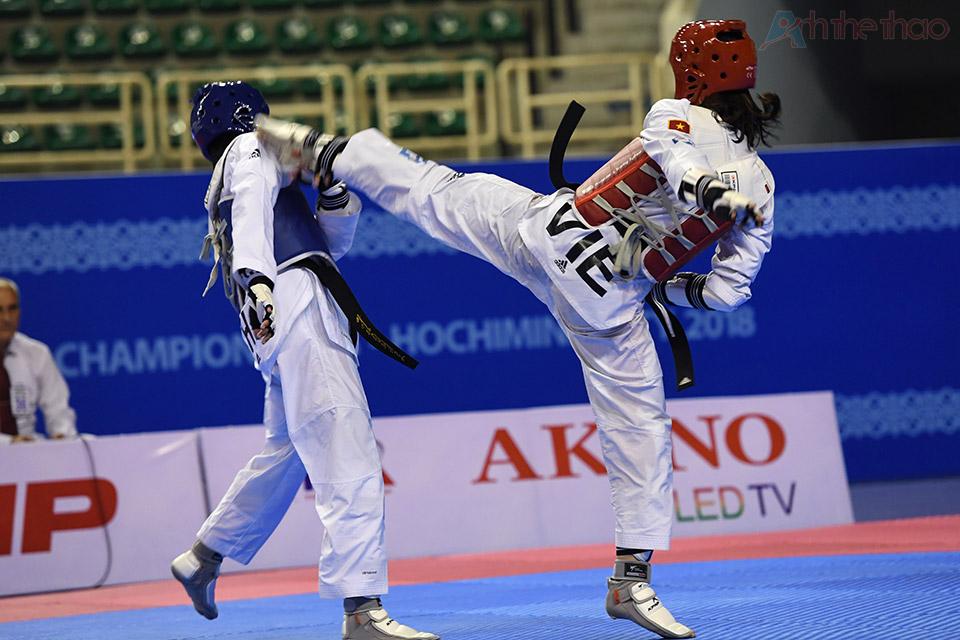 Kim Tuyền bình tĩnh đối đầu với đấu thủ đầy duyên nợ