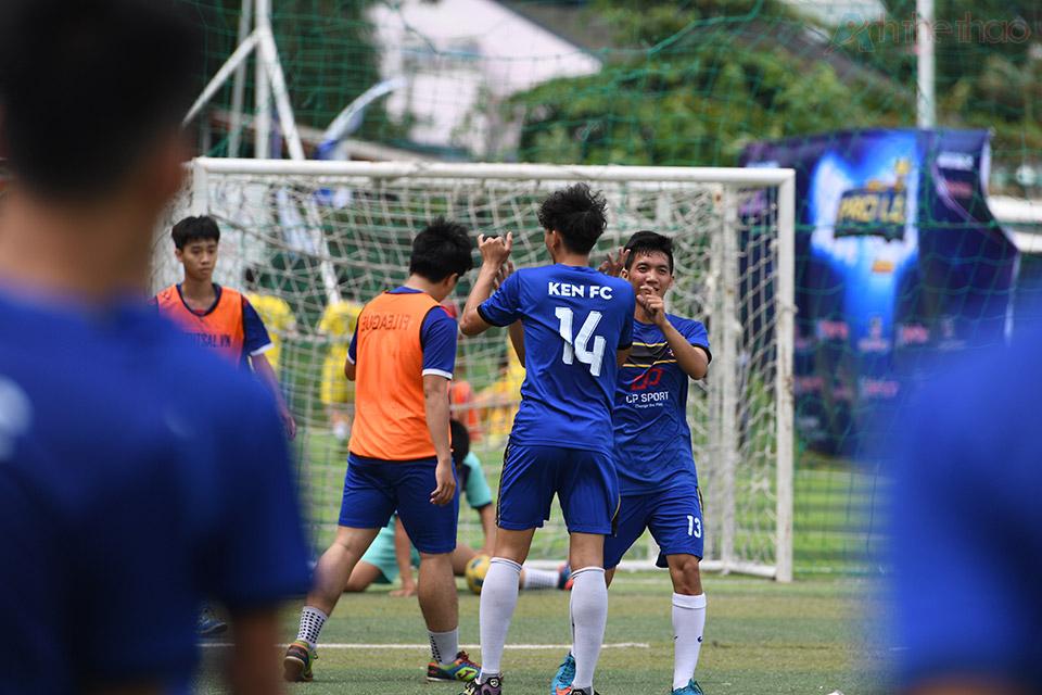 Đội tuyển Ken FC của tuyển thủ futsal Nguyễn Đắc Huy