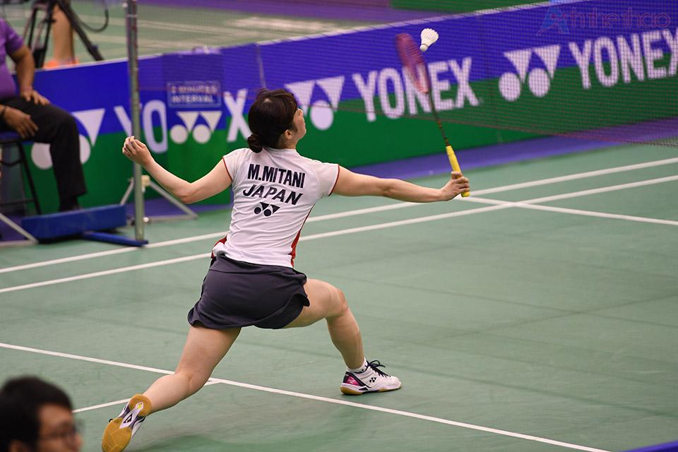 Tay vợt Nhật Minatsu Mitani