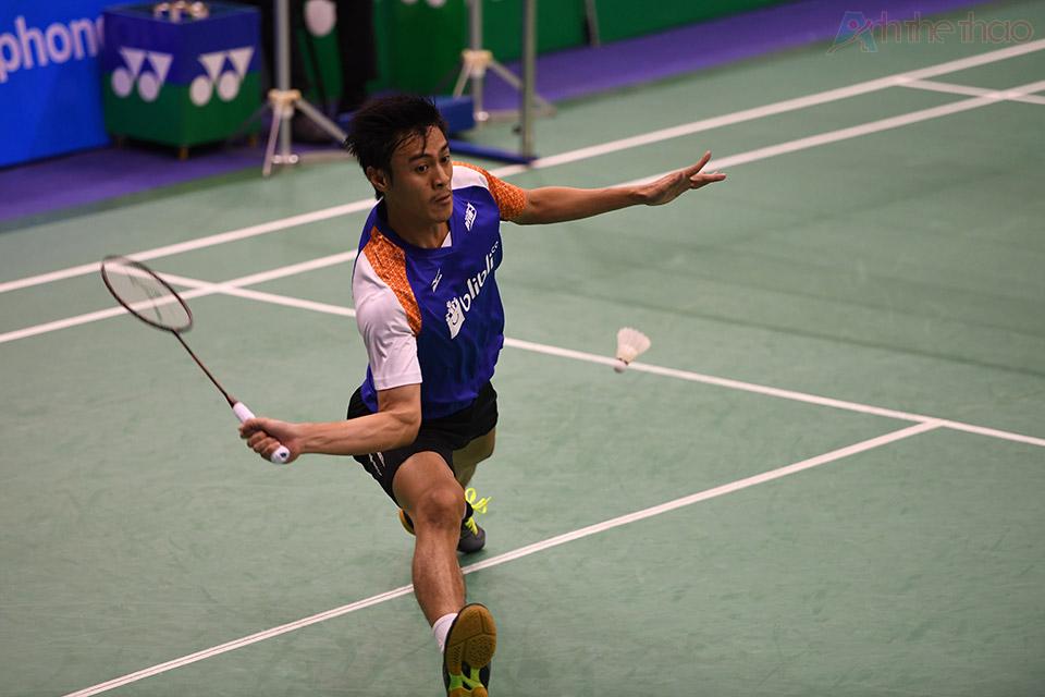 Tay vợt Indonesia Shesar Hiren Rhustavito