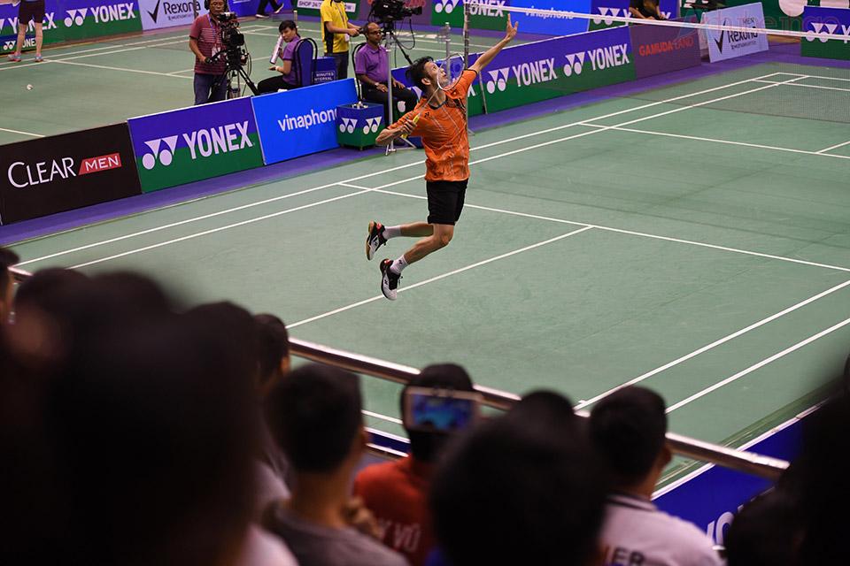 Rất đông khán giả đã đến cổ vũ cho các tay vợt Việt Nam