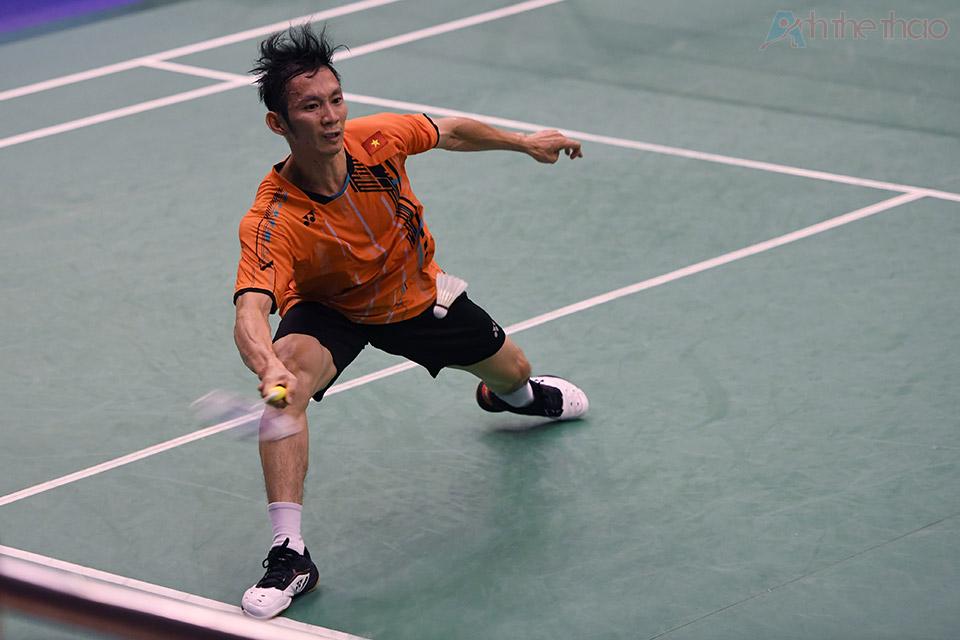 Tiến Minh vẫn xuất sắc trong những cú đánh nhưng ứng dụng chiến thuật khi thi đấu