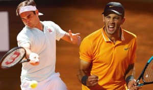 Federer vs Coric Internazionali BNL d'Italia 2019