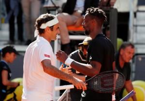 Federer vs Monfils