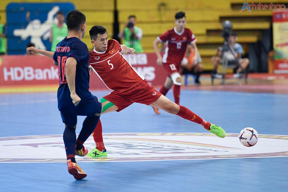 Các cầu thủ Vietnam thi đấu không thua kém gì Thailand